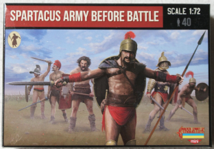Strelets 1/72 STM110 Spartacus Army Before Battle (Ancients)